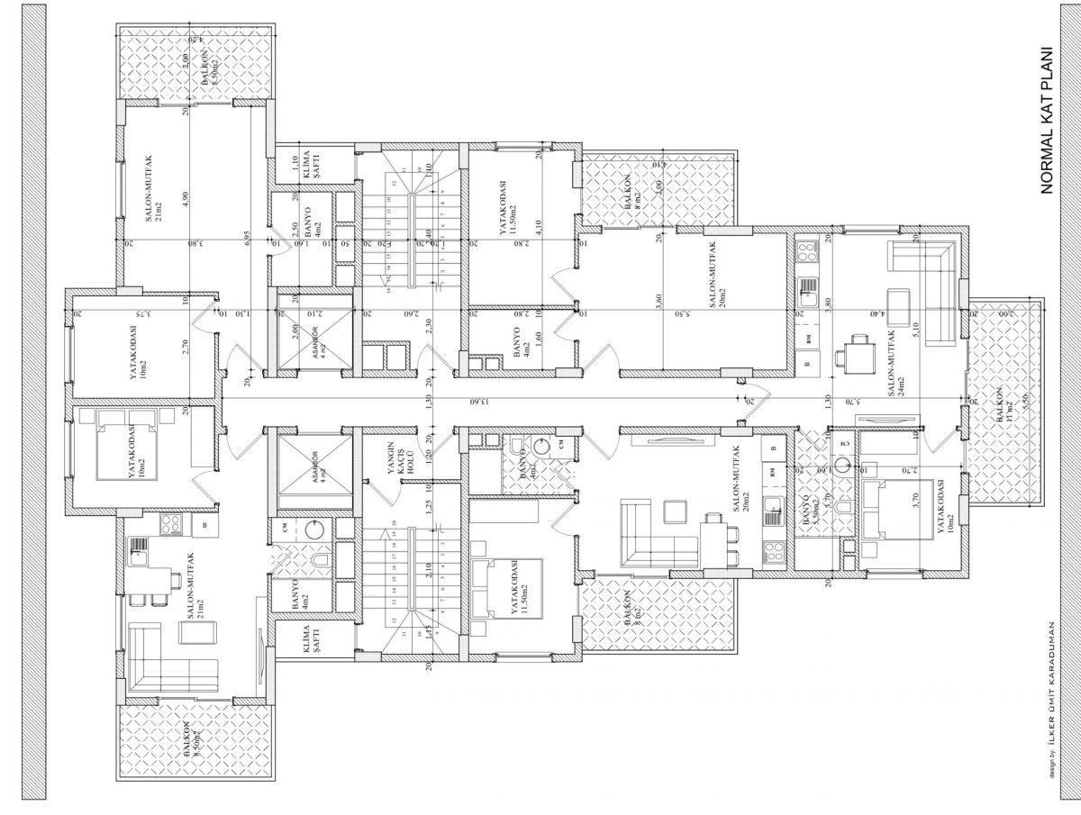 Квартиры в современном комплексе в Авсалларе - Фото 21