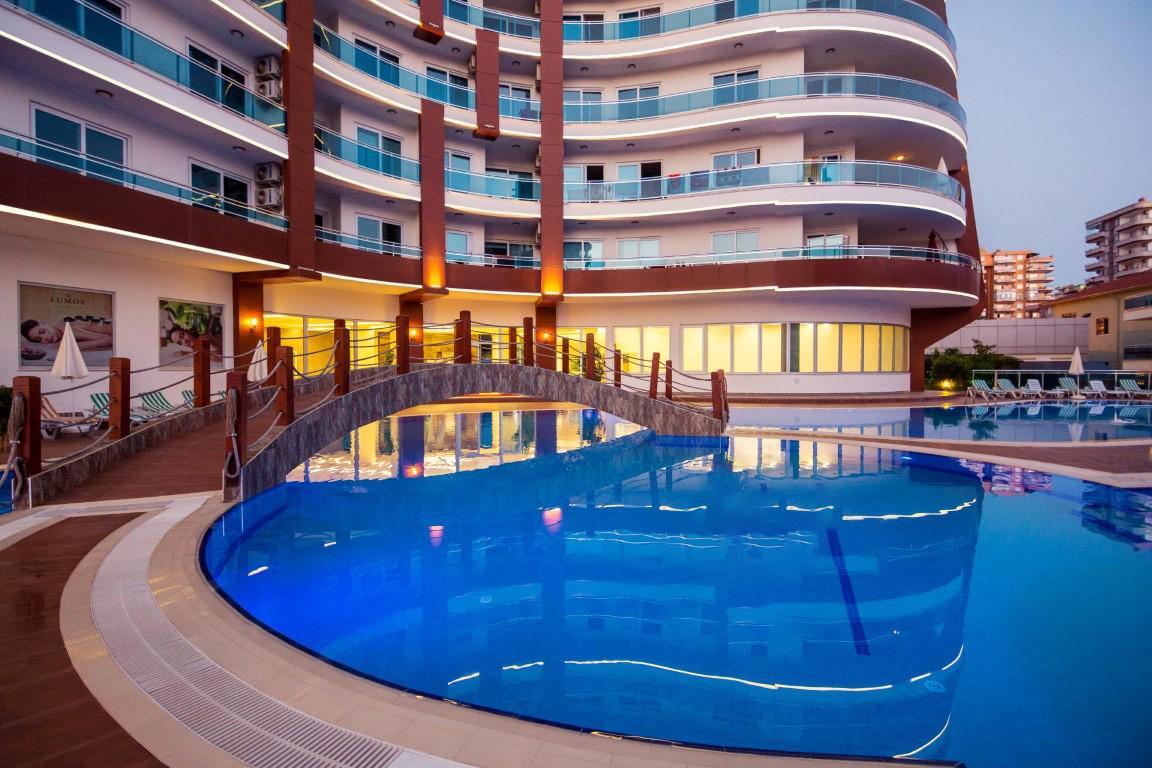 Меблированная квартира 1+1 в комплексе с богатой инфраструктурой район Махмутлар - Фото 3