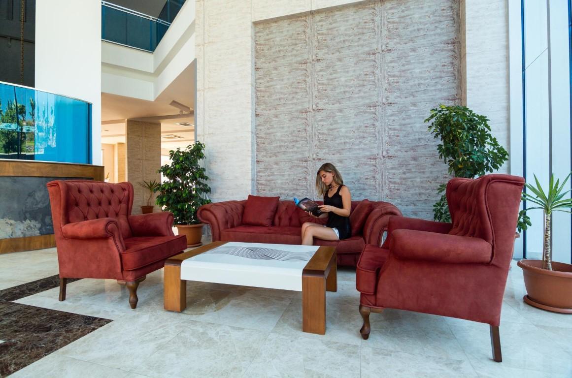 Меблированная квартира 1+1 в комплексе с богатой инфраструктурой район Махмутлар - Фото 20