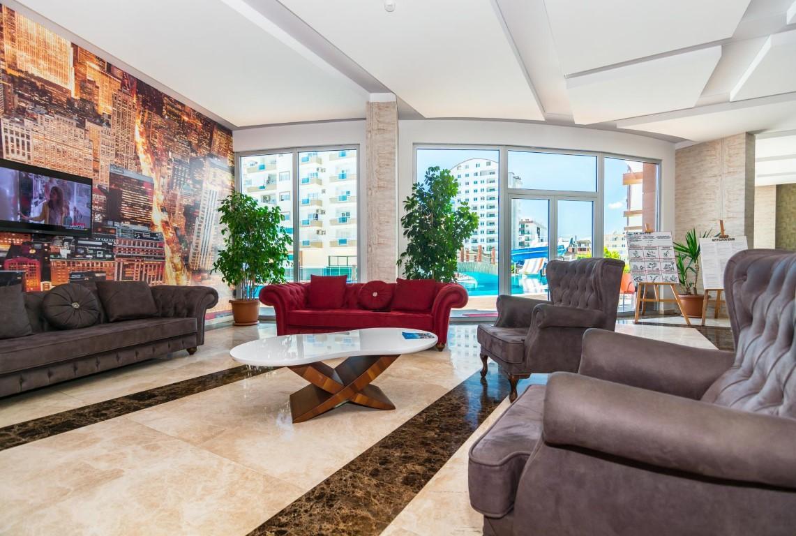 Меблированная квартира 1+1 в комплексе с богатой инфраструктурой район Махмутлар - Фото 21