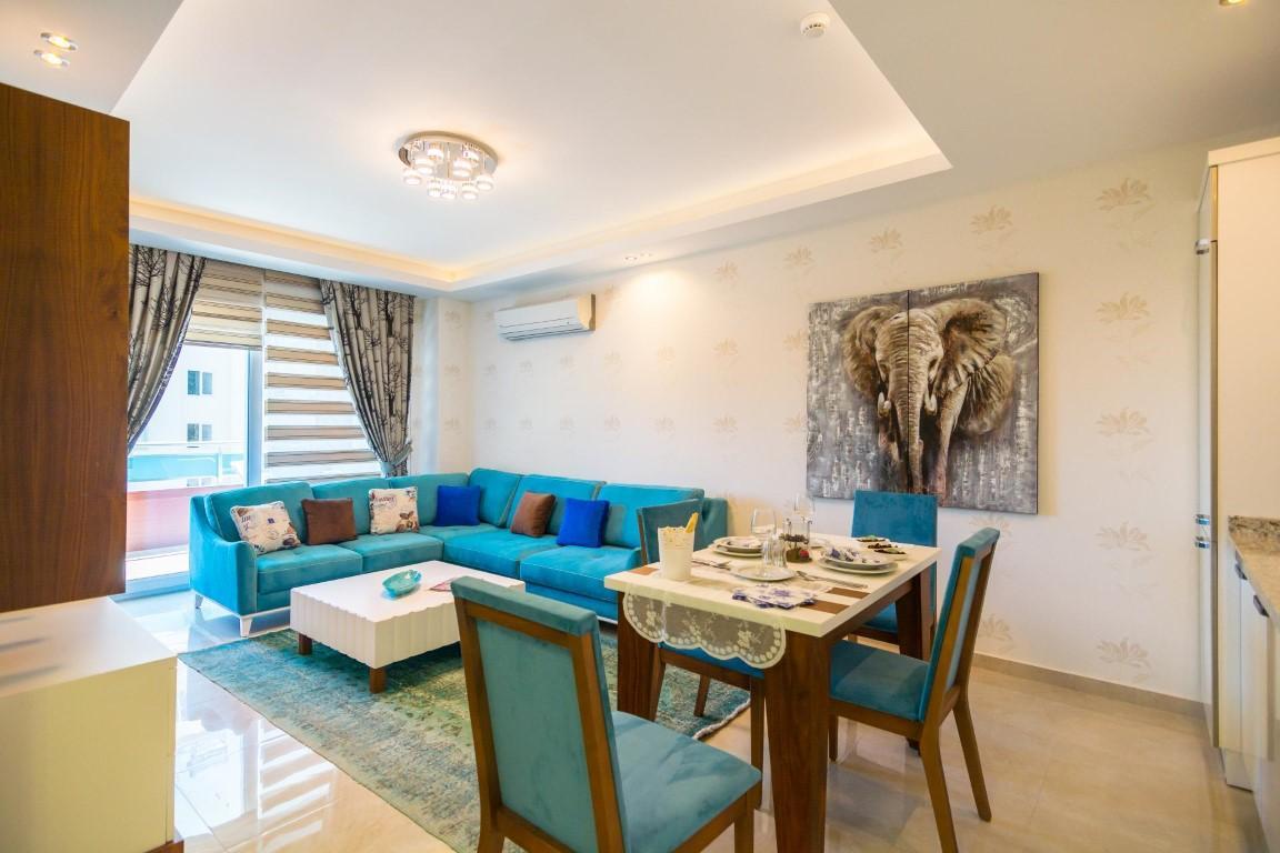Меблированная квартира 1+1 в комплексе с богатой инфраструктурой район Махмутлар - Фото 24