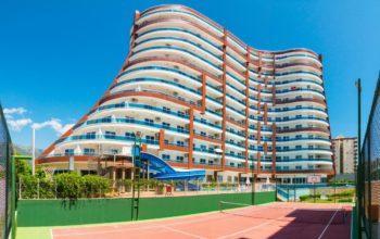 Меблированная квартира 1+1 в комплексе с богатой инфраструктурой район Махмутлар
