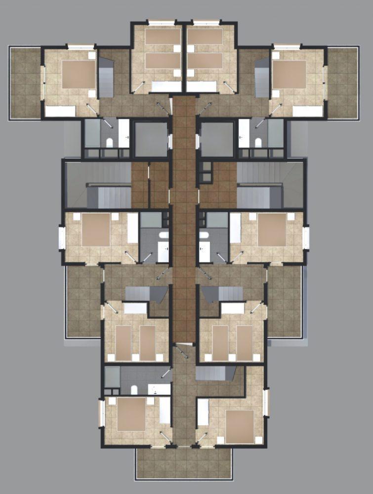 Квартиры в современном комплексе в Авсалларе - Фото 22