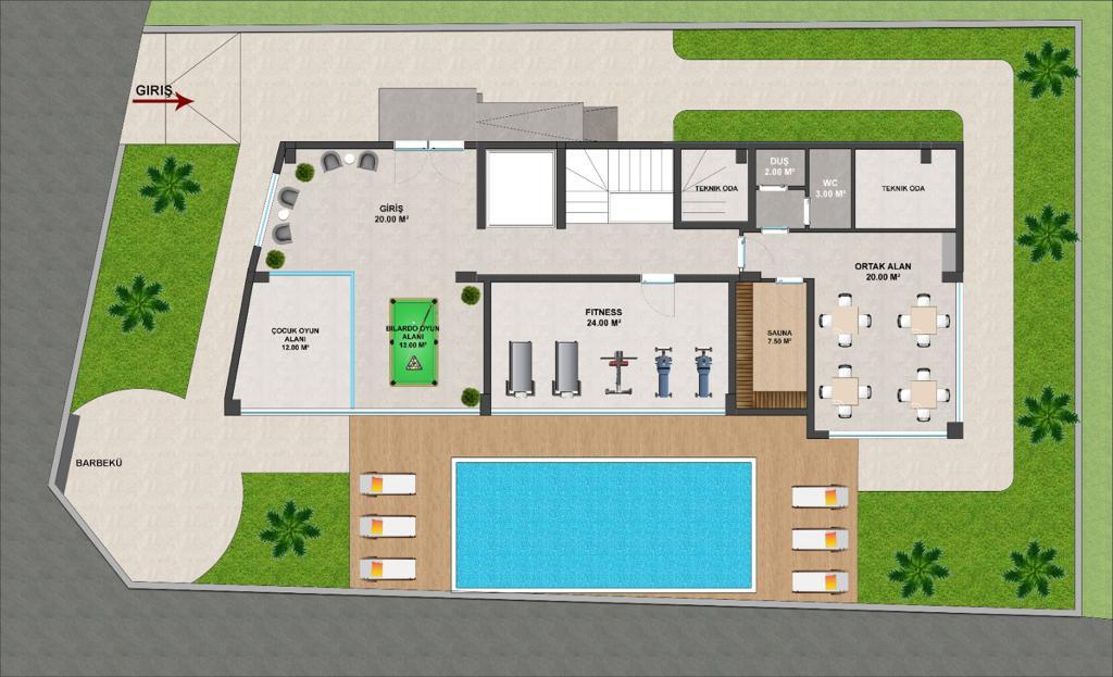 Новый комплекс в Махмутларе с доступными ценами - Фото 20