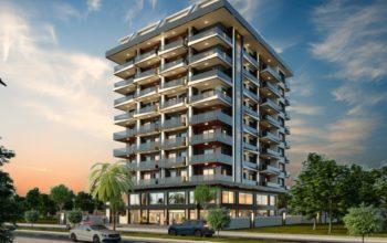 Квартира в новом комплексе в центре Махмутлара
