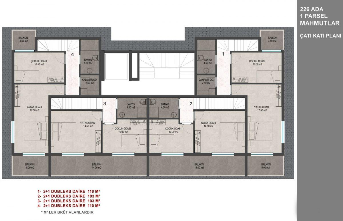 Новый комплекс в Махмутларе с доступными ценами - Фото 23