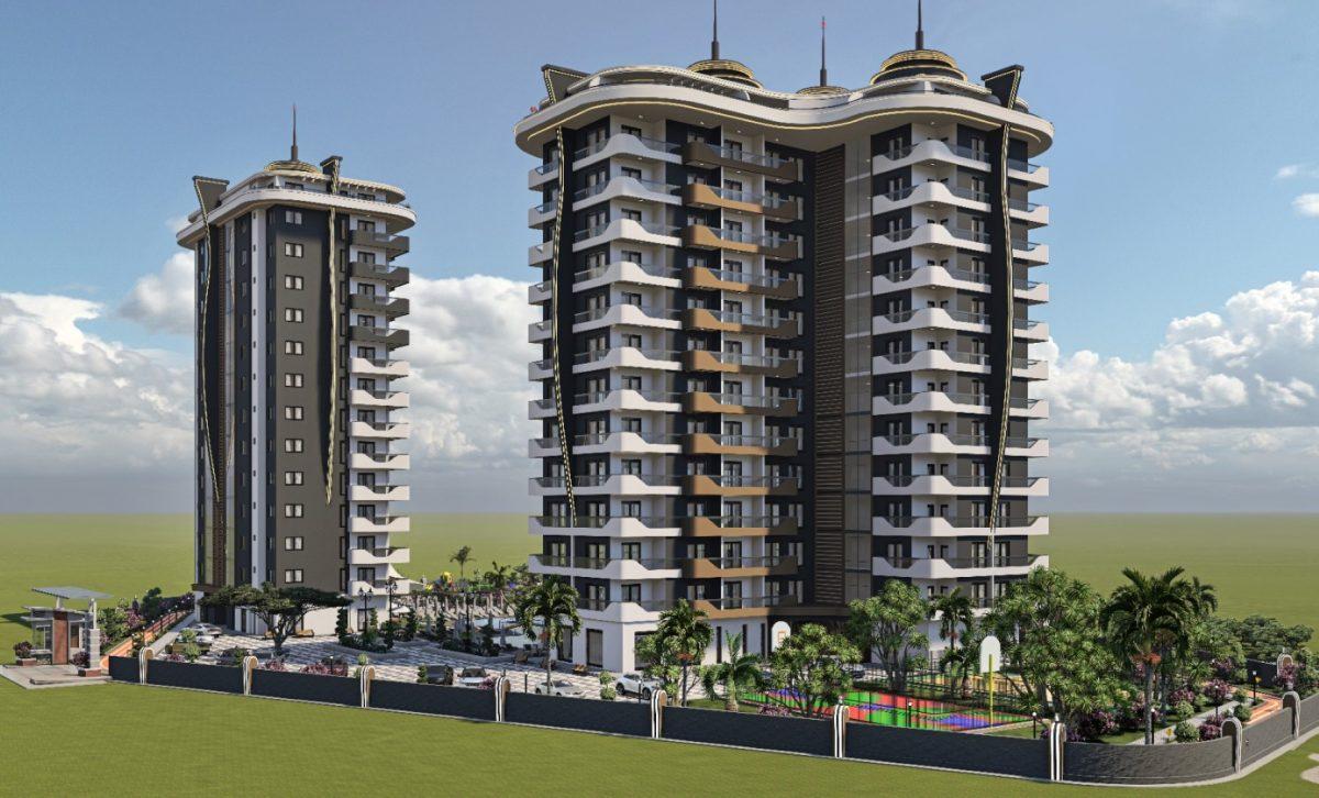 Новый бюджетный комплекс в Махмутларе - Фото 18