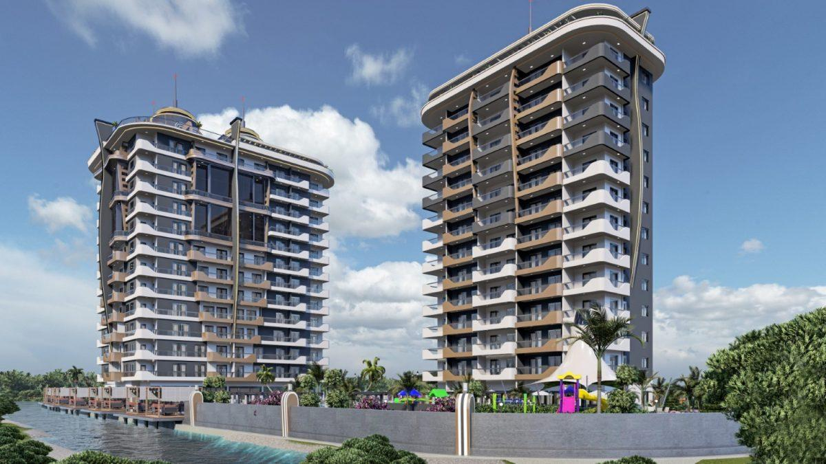 Новый бюджетный комплекс в Махмутларе - Фото 19