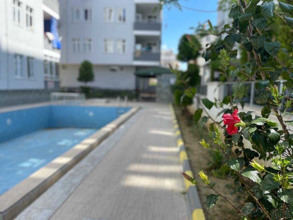 Апартаменты 2+1 с видом на море и старинные развалины в Махмутларе - Фото 28