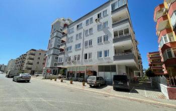 Апартаменты 2+1 с видом на море и старинные развалины в Махмутларе