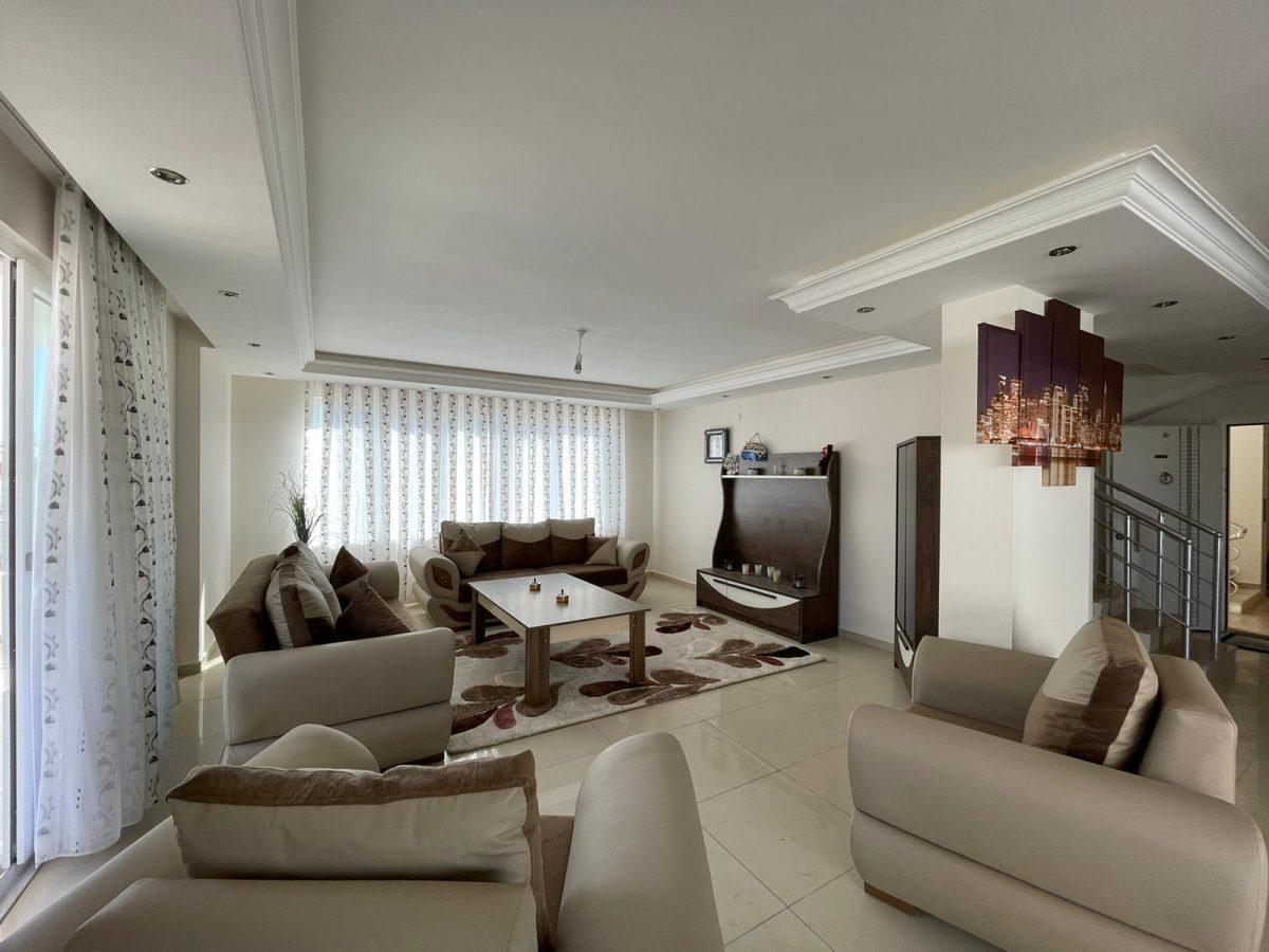 Меблированный пентхаус с тремя спальнями в Махмутларе  - Фото 6