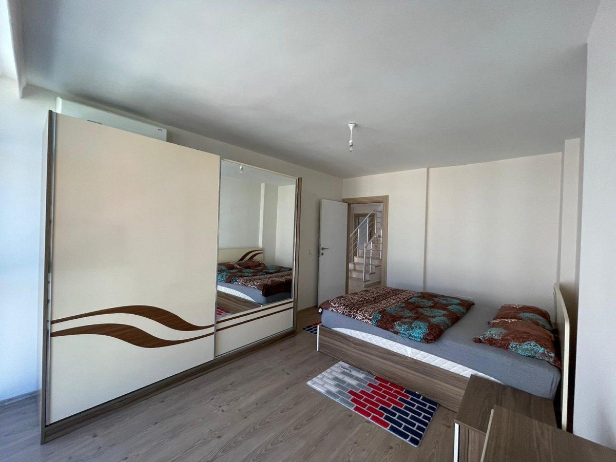 Меблированный пентхаус с тремя спальнями в Махмутларе  - Фото 21