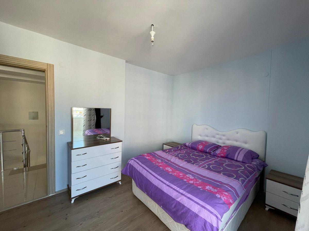 Меблированный пентхаус с тремя спальнями в Махмутларе  - Фото 26