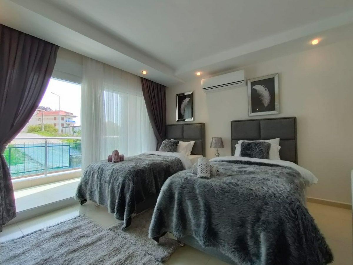 Меблированная квартира 2+1 в супер комплексе района Кестель - Фото 11