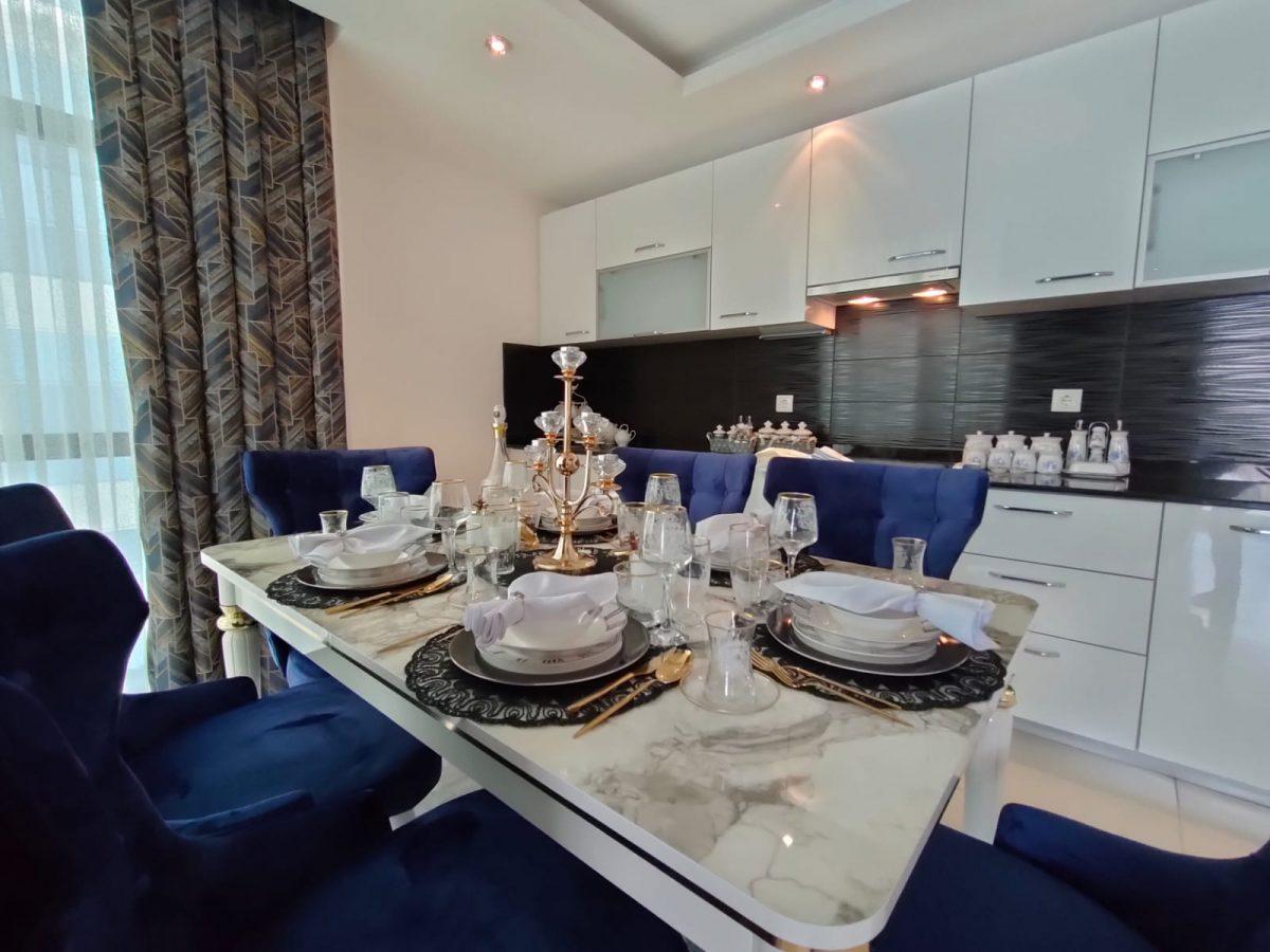 Меблированная квартира 2+1 в супер комплексе района Кестель - Фото 3