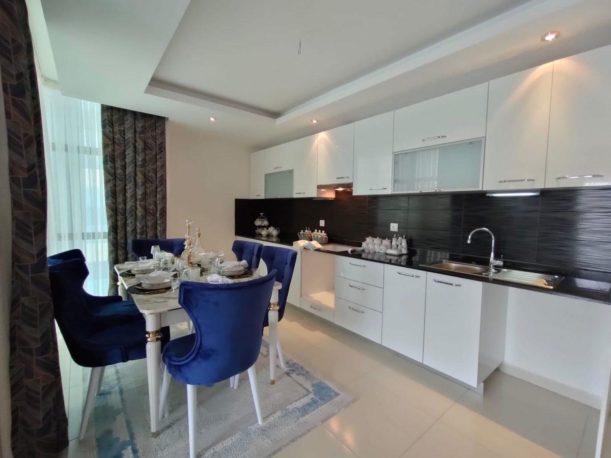 Меблированная квартира 2+1 в супер комплексе района Кестель - Фото 6