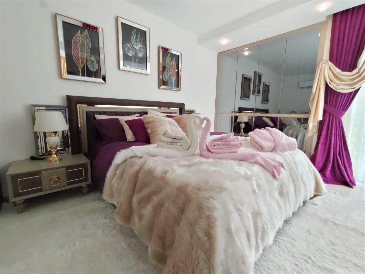Меблированная квартира 2+1 в супер комплексе района Кестель - Фото 10