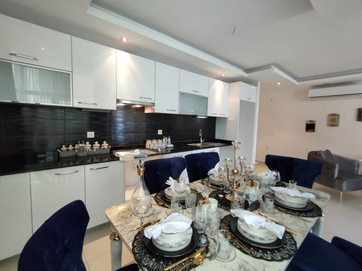 Меблированная квартира 2+1 в супер комплексе района Кестель - Фото 5