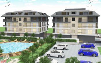 Апартаменты с отдельной кухней в новом ЖК в районе Оба
