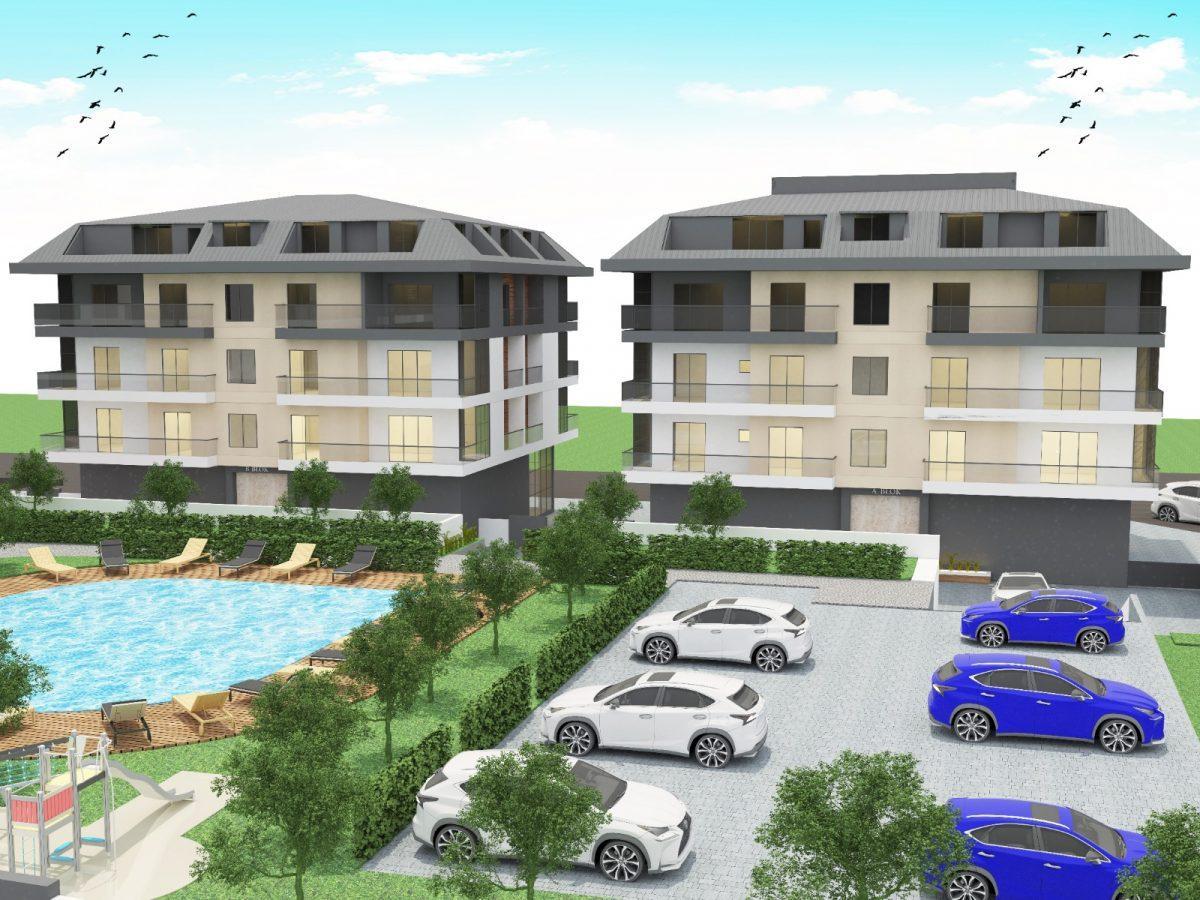 Апартаменты с отдельной кухней в новом ЖК в районе Оба - Фото 1
