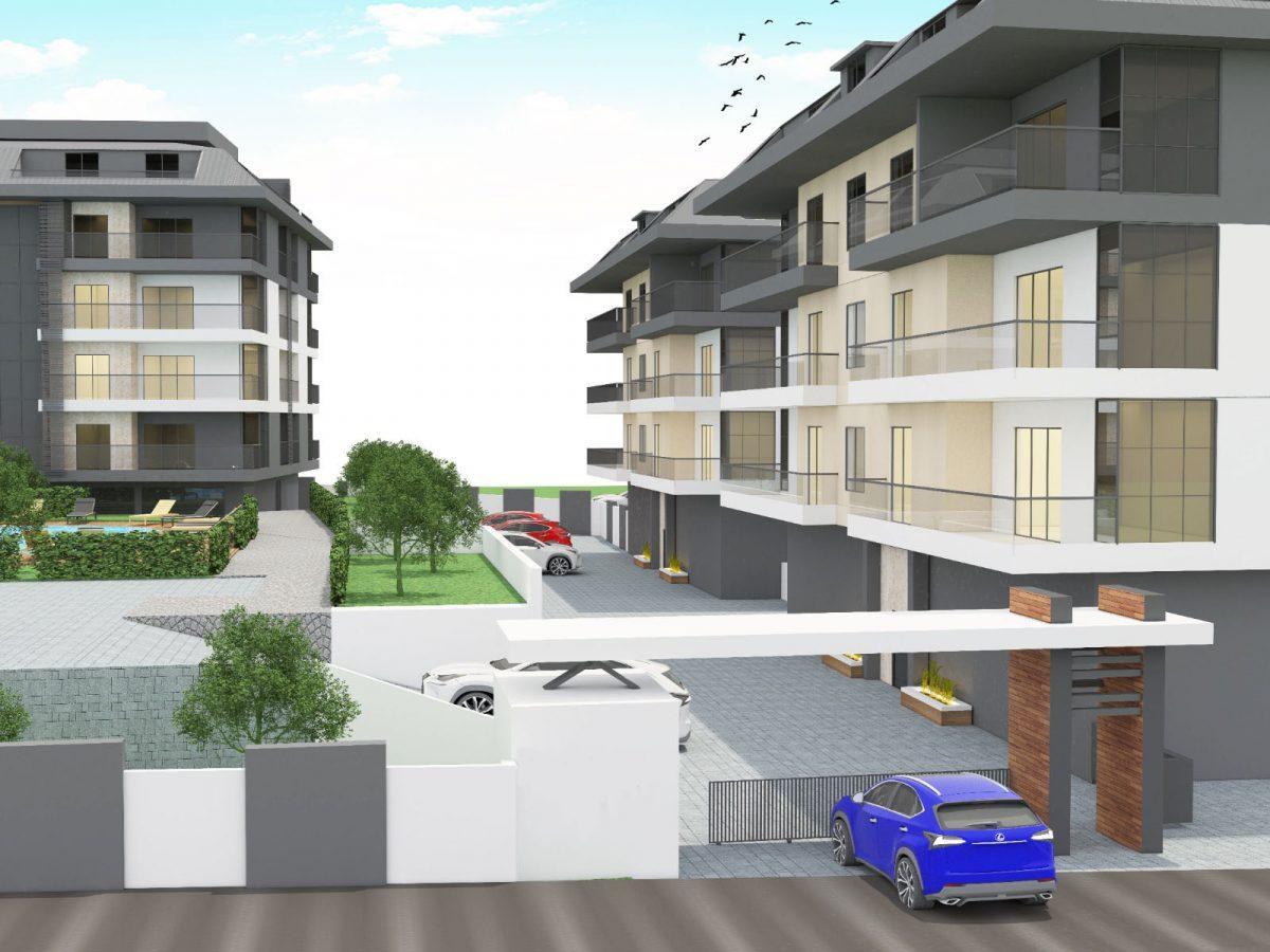Апартаменты с отдельной кухней в новом ЖК в районе Оба - Фото 3