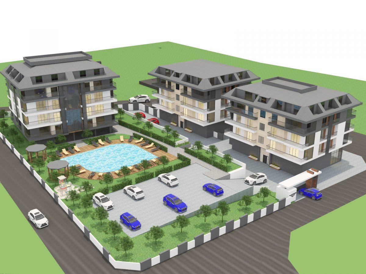Апартаменты с отдельной кухней в новом ЖК в районе Оба - Фото 4
