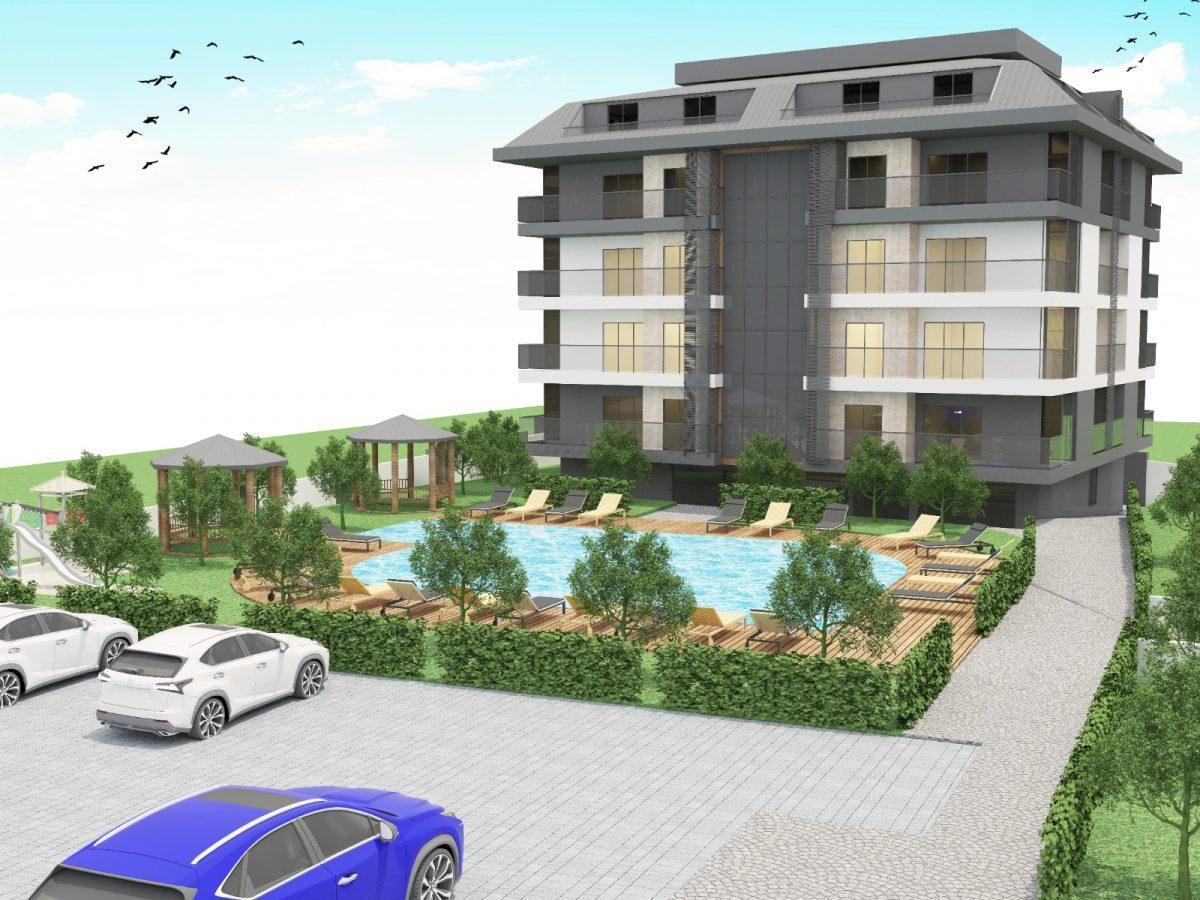 Апартаменты с отдельной кухней в новом ЖК в районе Оба - Фото 5