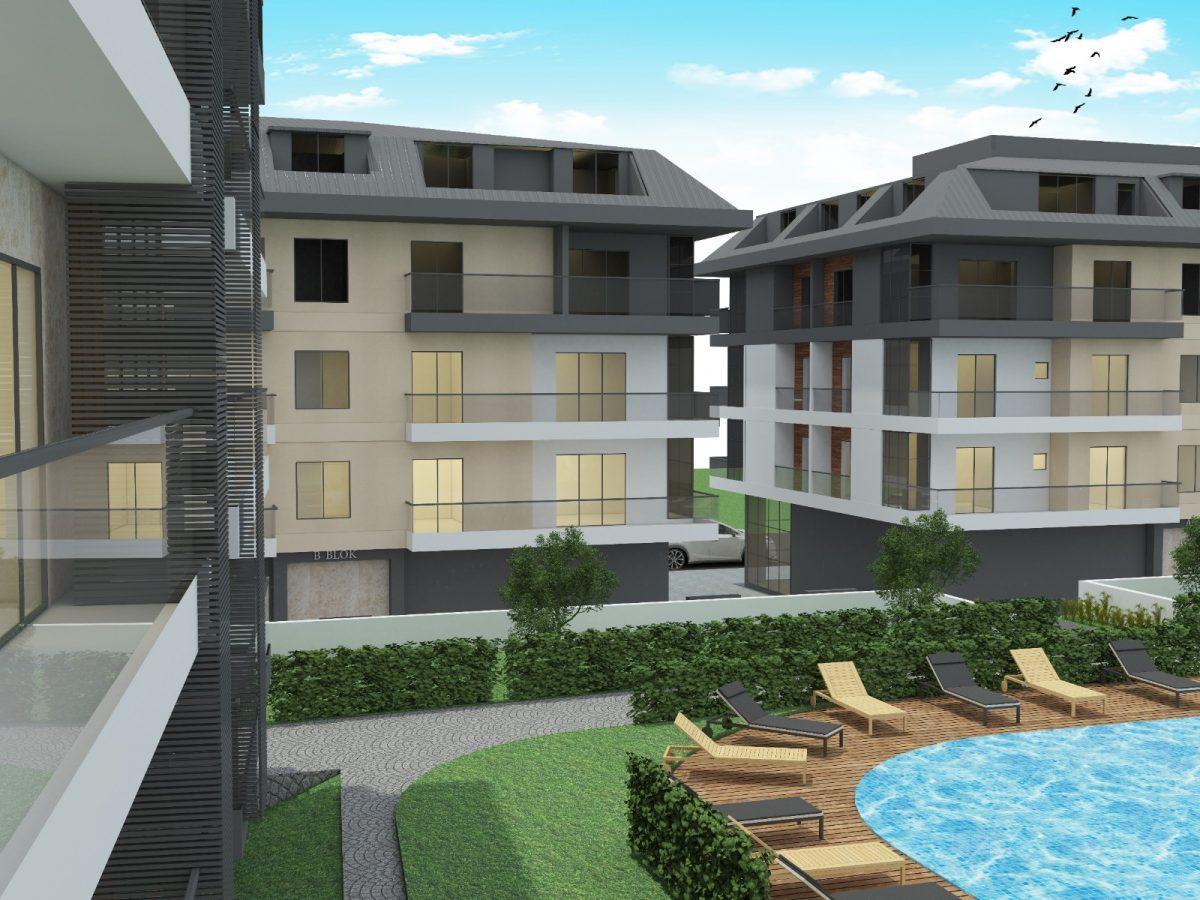 Апартаменты с отдельной кухней в новом ЖК в районе Оба - Фото 6