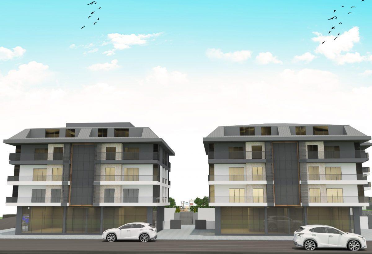 Апартаменты с отдельной кухней в новом ЖК в районе Оба - Фото 7