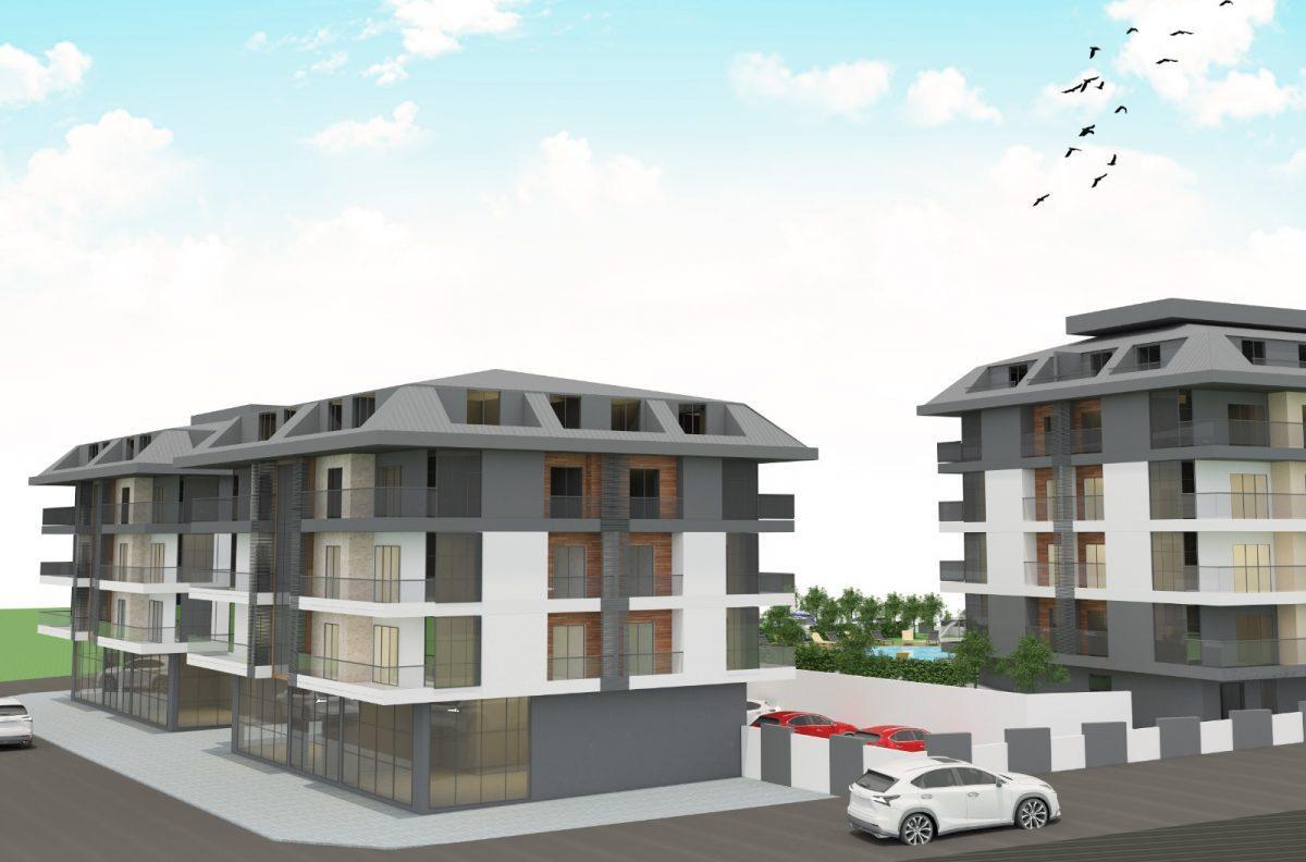 Апартаменты с отдельной кухней в новом ЖК в районе Оба - Фото 8