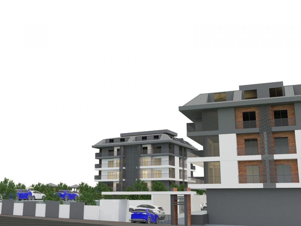 Апартаменты с отдельной кухней в новом ЖК в районе Оба - Фото 9