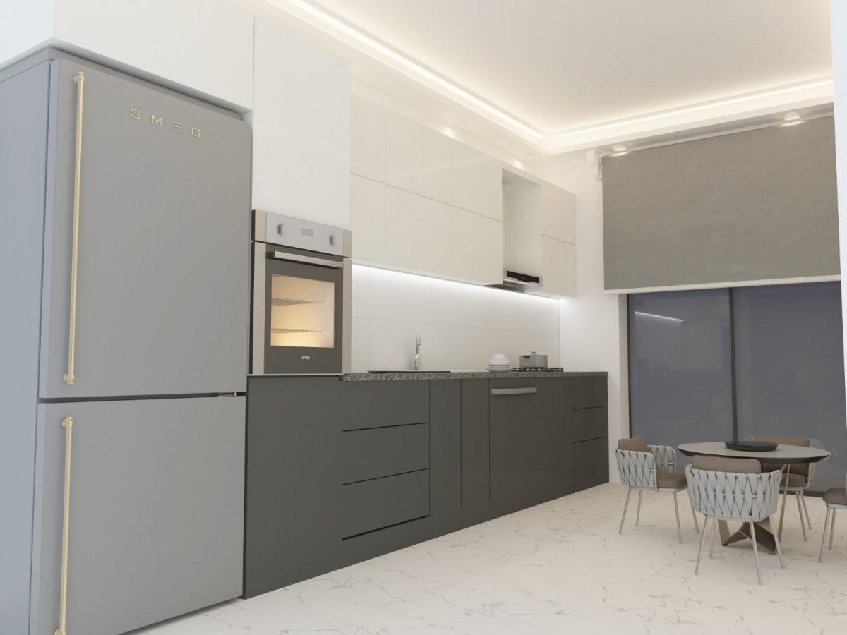 Апартаменты с отдельной кухней в новом ЖК в районе Оба - Фото 13