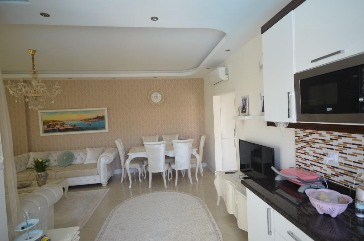 Меблированная квартира 2+1 с европейском районе Алании Махмутлар - Фото 7