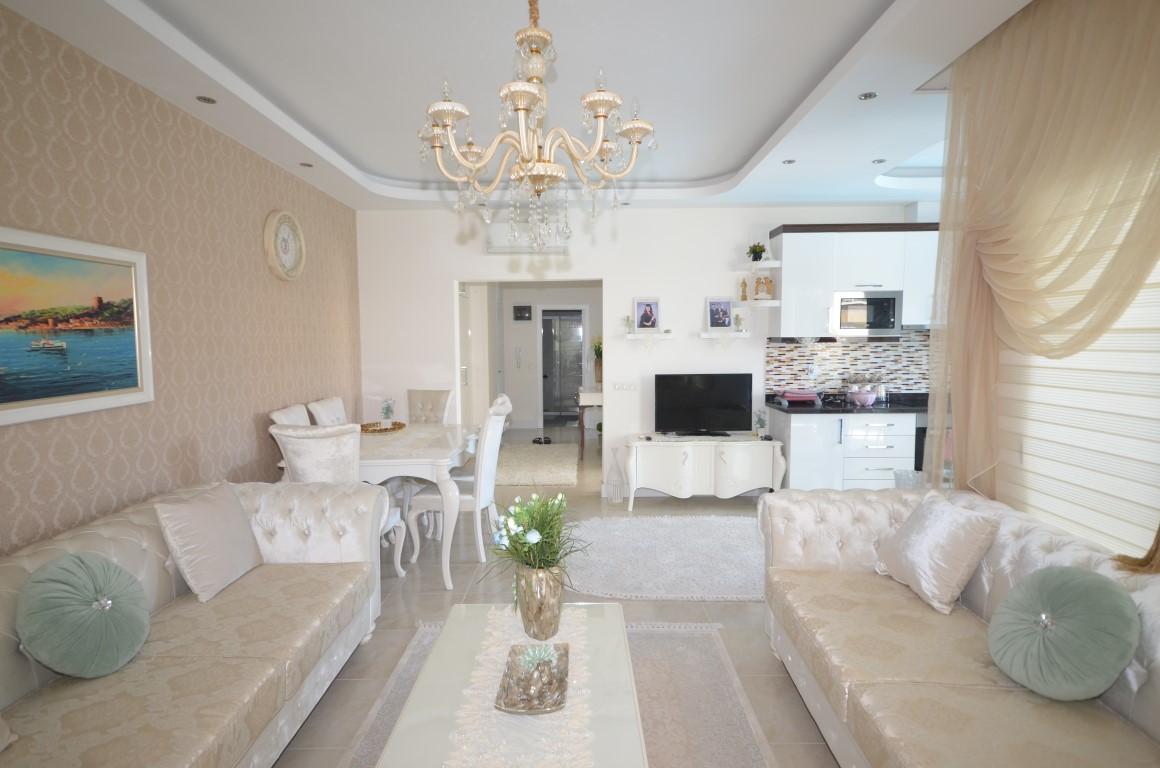 Меблированная квартира 2+1 с европейском районе Алании Махмутлар - Фото 8