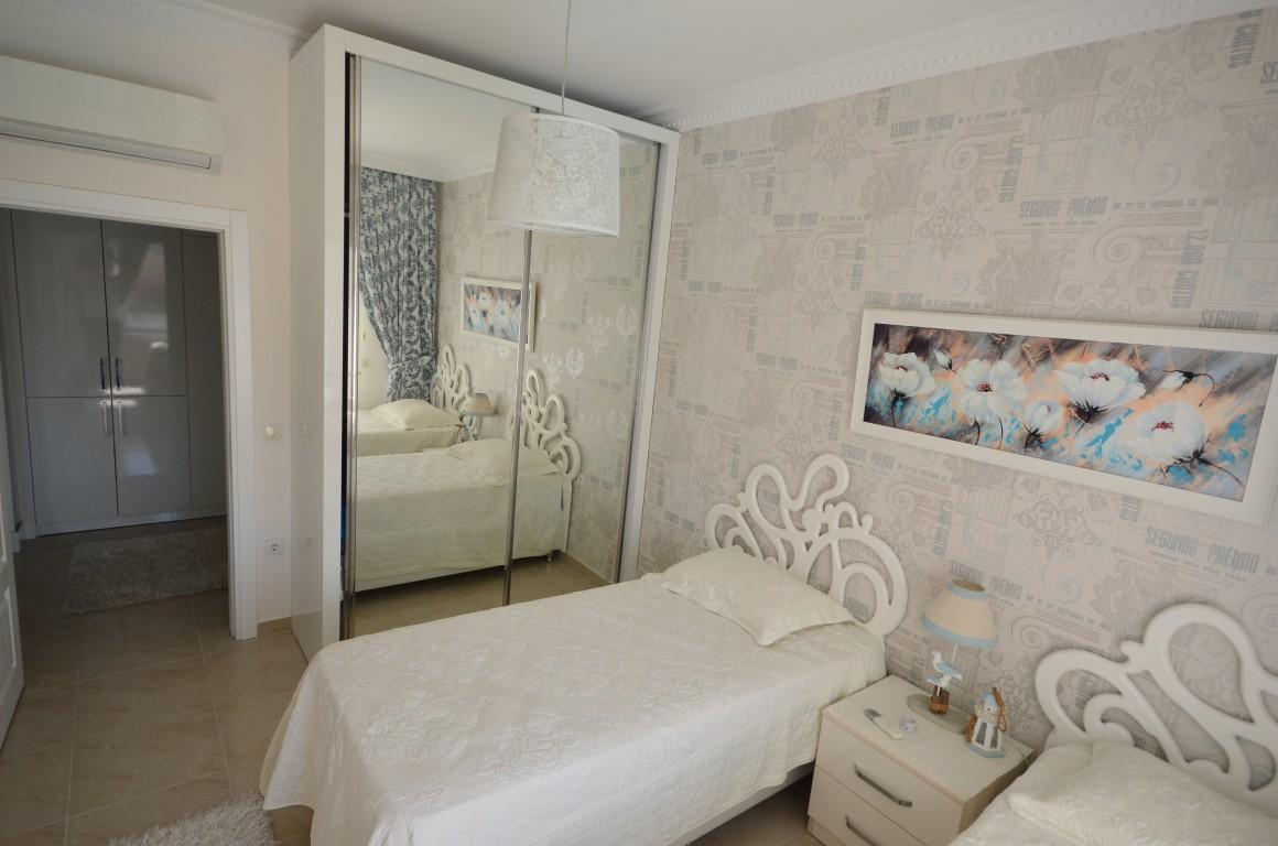 Меблированная квартира 2+1 с европейском районе Алании Махмутлар - Фото 11