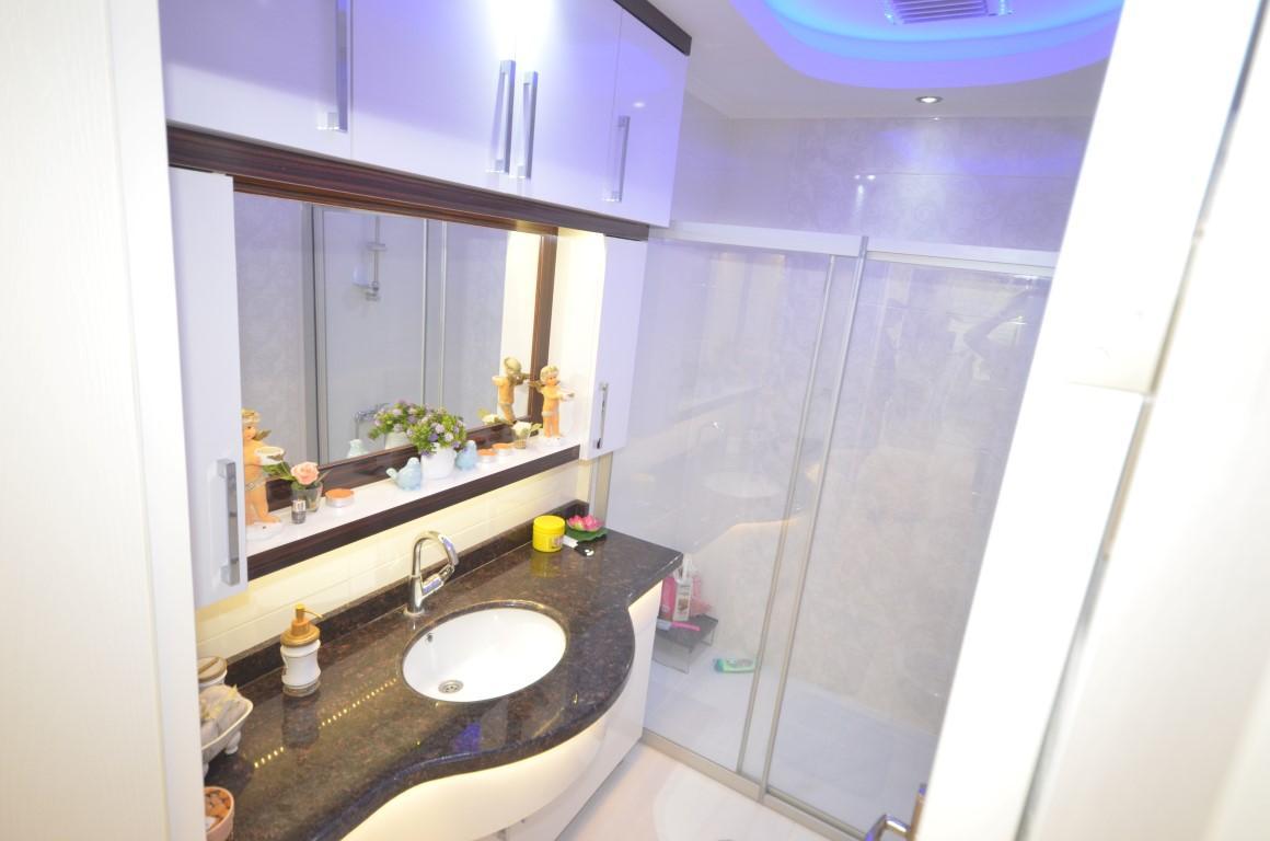 Меблированная квартира 2+1 с европейском районе Алании Махмутлар - Фото 12