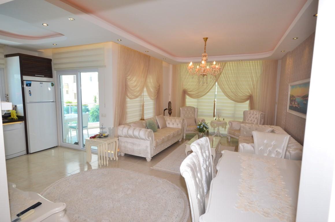 Меблированная квартира 2+1 с европейском районе Алании Махмутлар - Фото 13