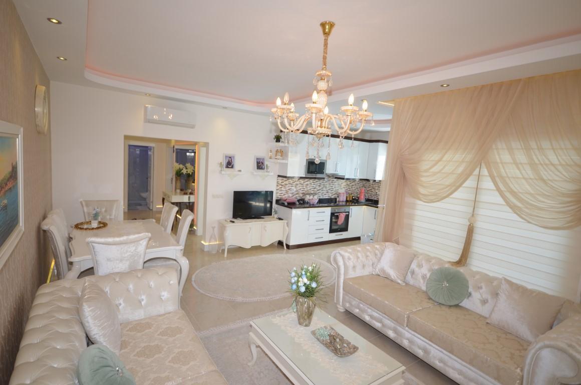 Меблированная квартира 2+1 с европейском районе Алании Махмутлар - Фото 15