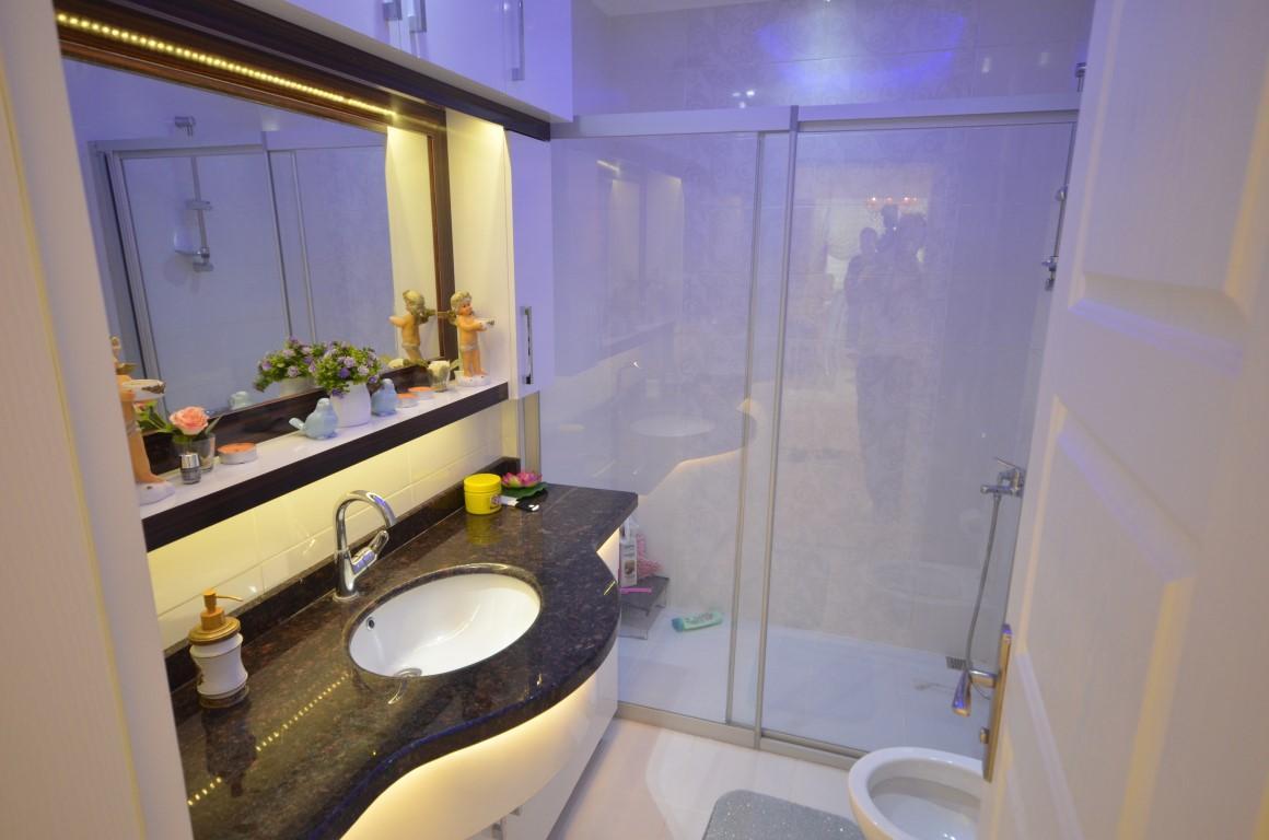 Меблированная квартира 2+1 с европейском районе Алании Махмутлар - Фото 18