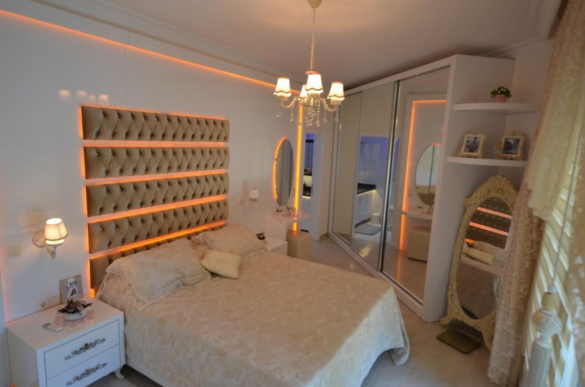 Меблированная квартира 2+1 с европейском районе Алании Махмутлар - Фото 20