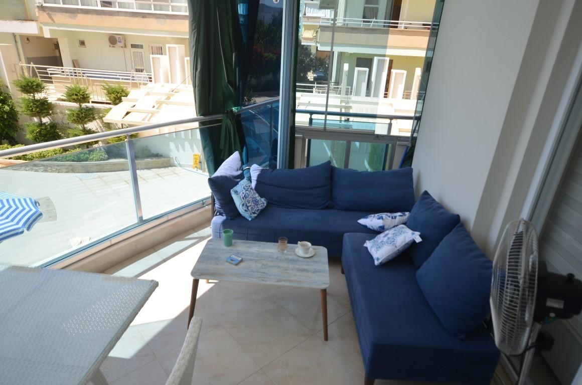 Меблированная квартира 2+1 с европейском районе Алании Махмутлар - Фото 25