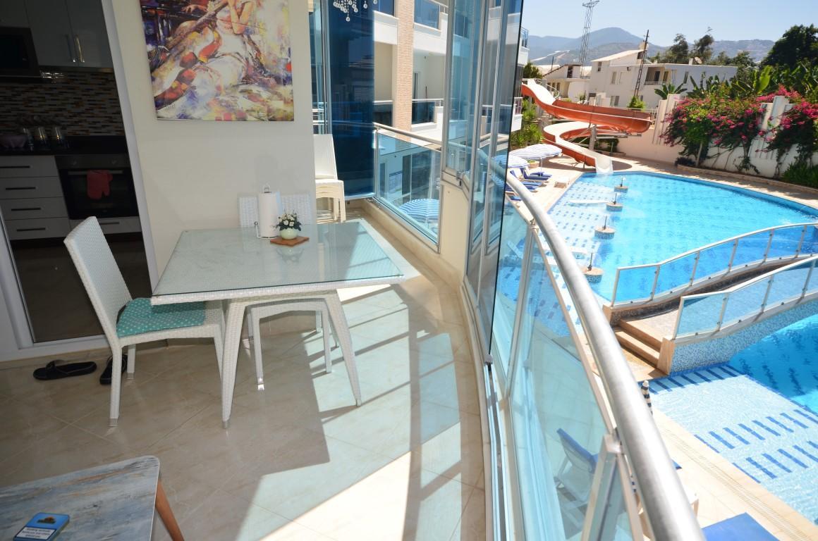 Меблированная квартира 2+1 с европейском районе Алании Махмутлар - Фото 28