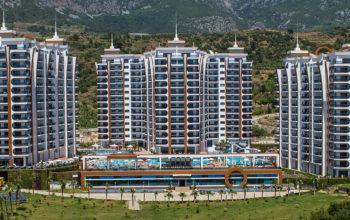Меблированная квартира 1+1 в комплексе с отельной инфраструктурой