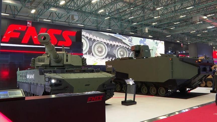 В Стамбуле открылась крупная военная выставка