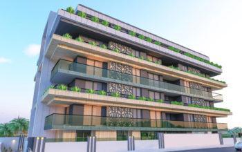 Квартира 1+1 в самом центре Алании в хорошем комплексе в аренду