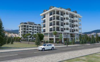 Апартаменты и пентхаусы в новом ЖК в Каргыджаке