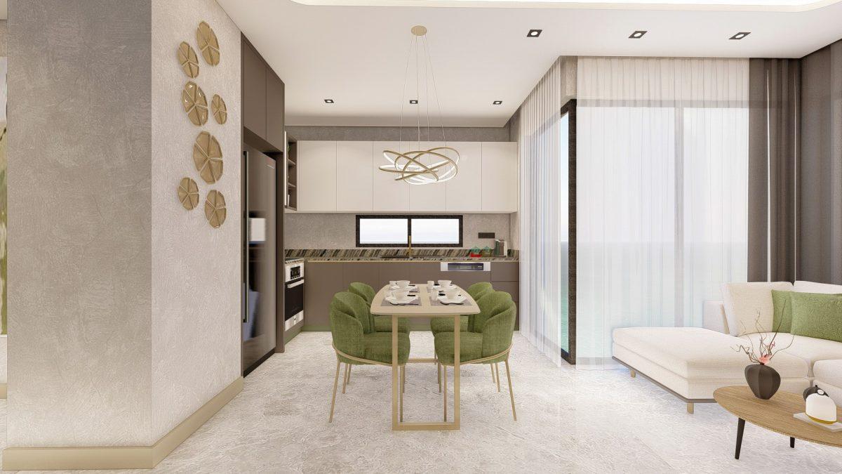 Новые апартаменты в люксовом комплексе в Кестеле - Фото 57