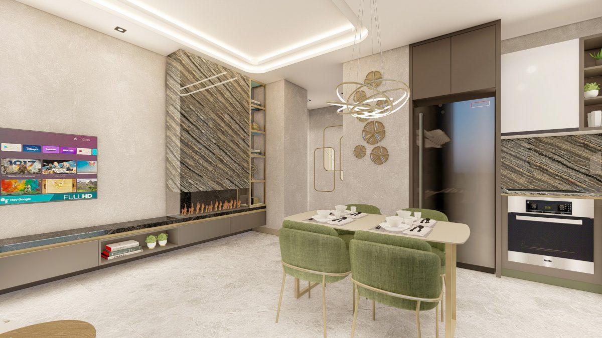 Новые апартаменты в люксовом комплексе в Кестеле - Фото 59