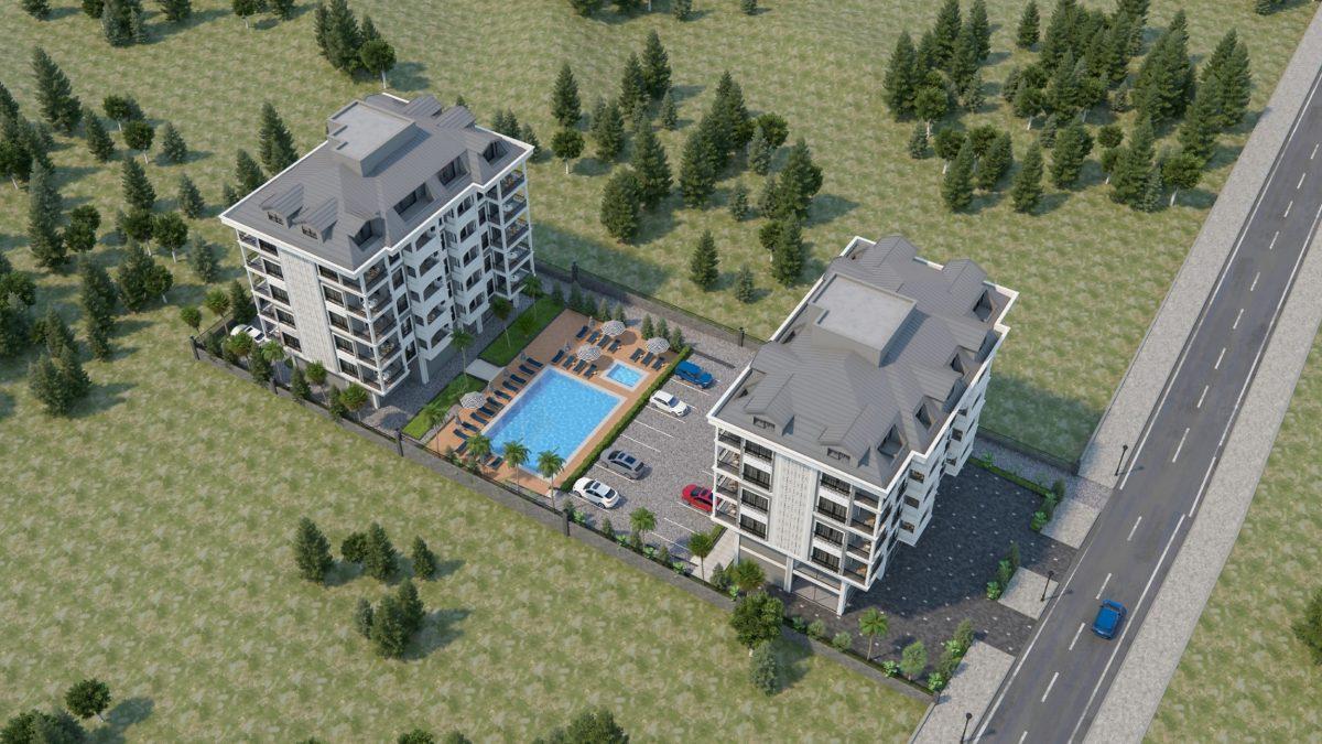 Апартаменты и пентхаусы в новом ЖК в Каргыджаке - Фото 2