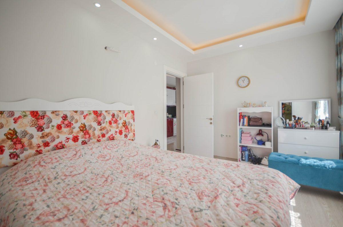Просторная квартира с мебелью и техникой в Махмутларе - Фото 10